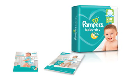 Les couches Pampers Baby-Dry
