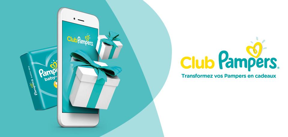 Découvrez l'application Club Pampers